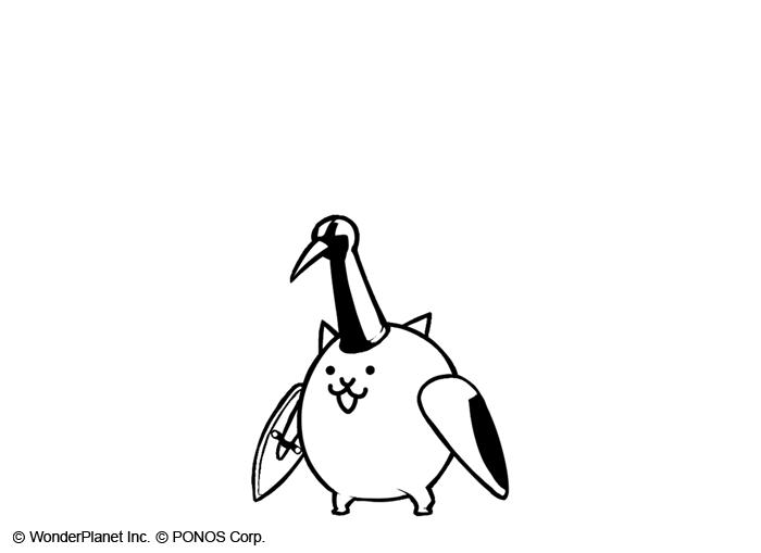 白鹤简笔画图片大全