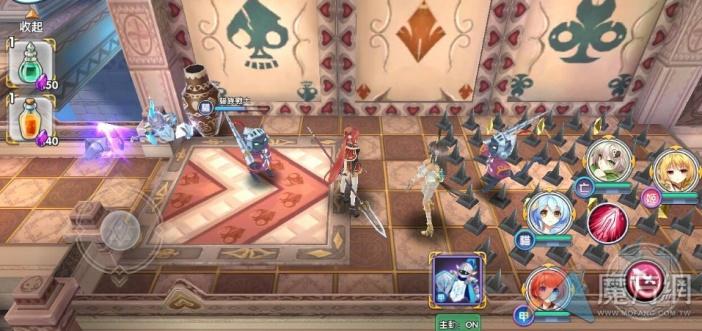 《戰舞幻想曲》第二章地圖過關攻略