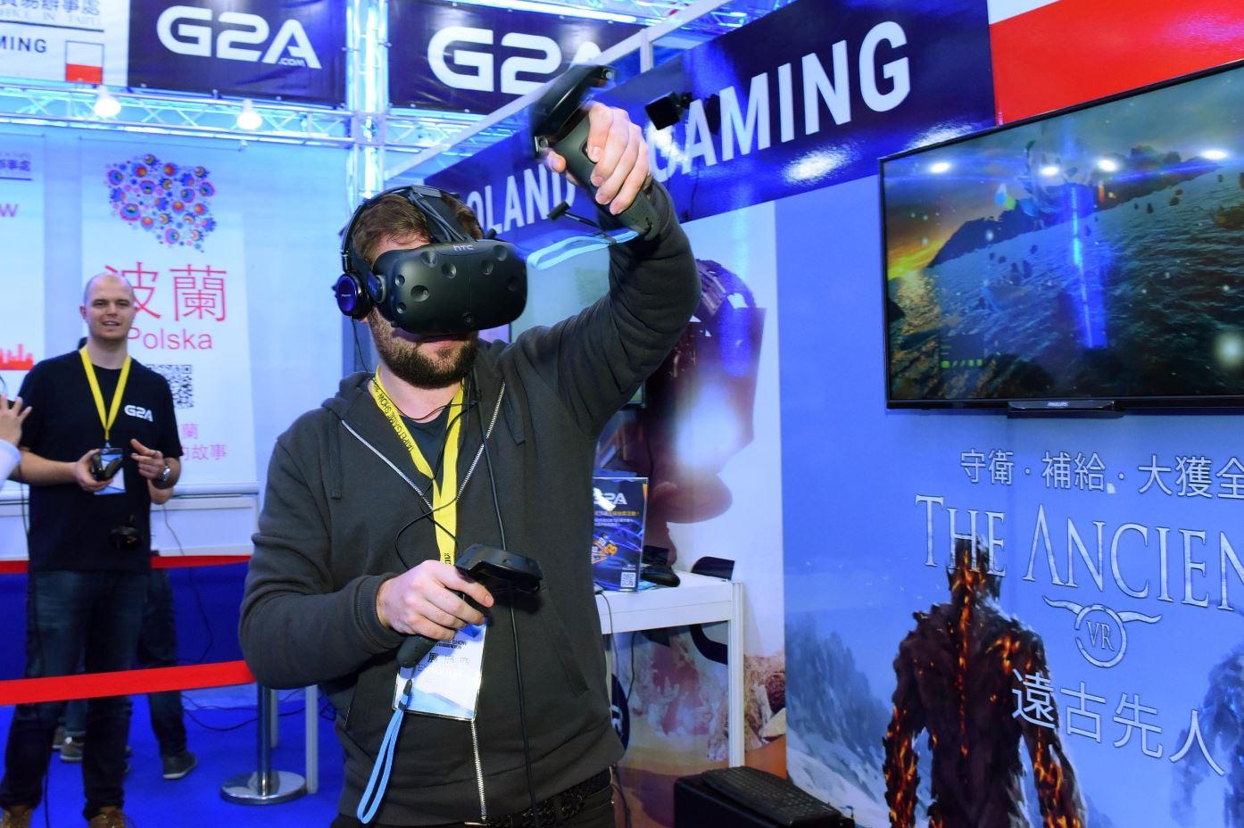 2018台北國際電玩展 全球佈局擴大版圖 VR內容元年與電競雙主軸