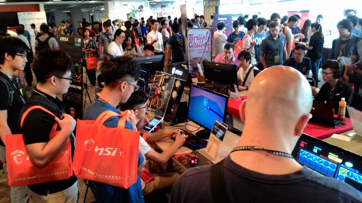 台灣規模最大的專業遊戲開發者論壇 TGDF 即將於今年 6/30– 7/01 在台北文創盛大展開!