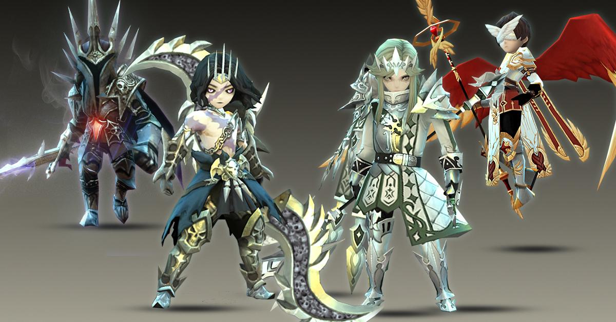 冒險RPG《水晶之心 Crystal Hearts》第二波角色原畫獨家釋出