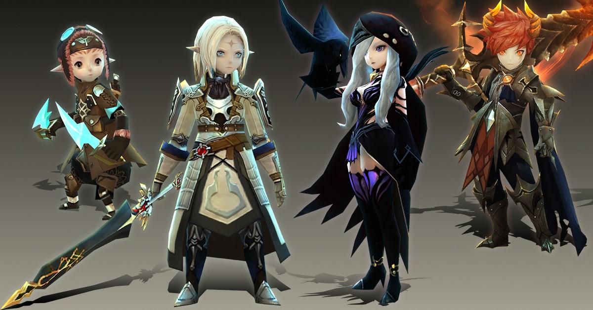 冒險RPG《水晶之心 Crystal Hearts》加碼抽獎活動 同步釋出角色原畫