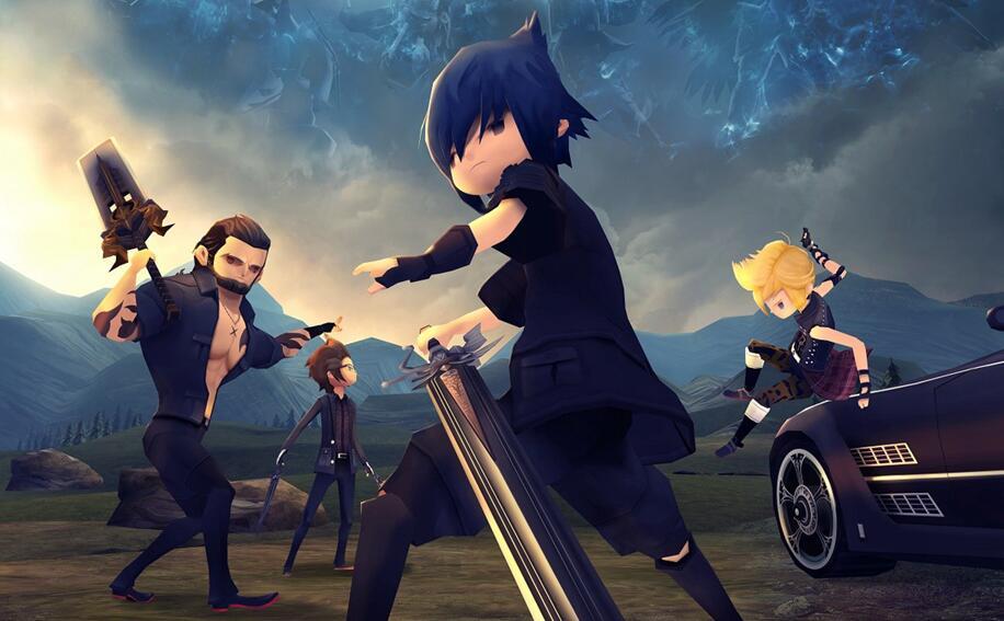 SQUARE ENIX 宣布將推出《Final Fantasy XV 口袋版》預定 2017 秋季上市!