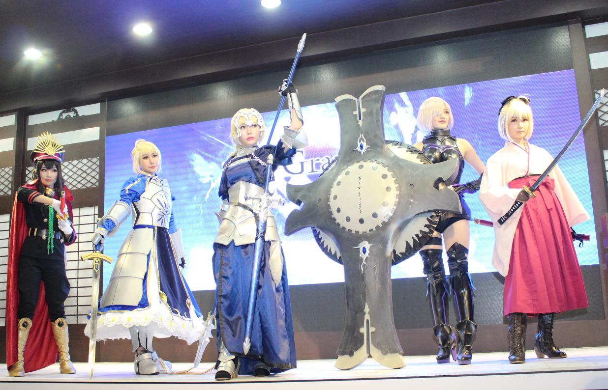 《Fate/Grand Order》打造本能寺場景,漫博首日成為全場注目焦點!