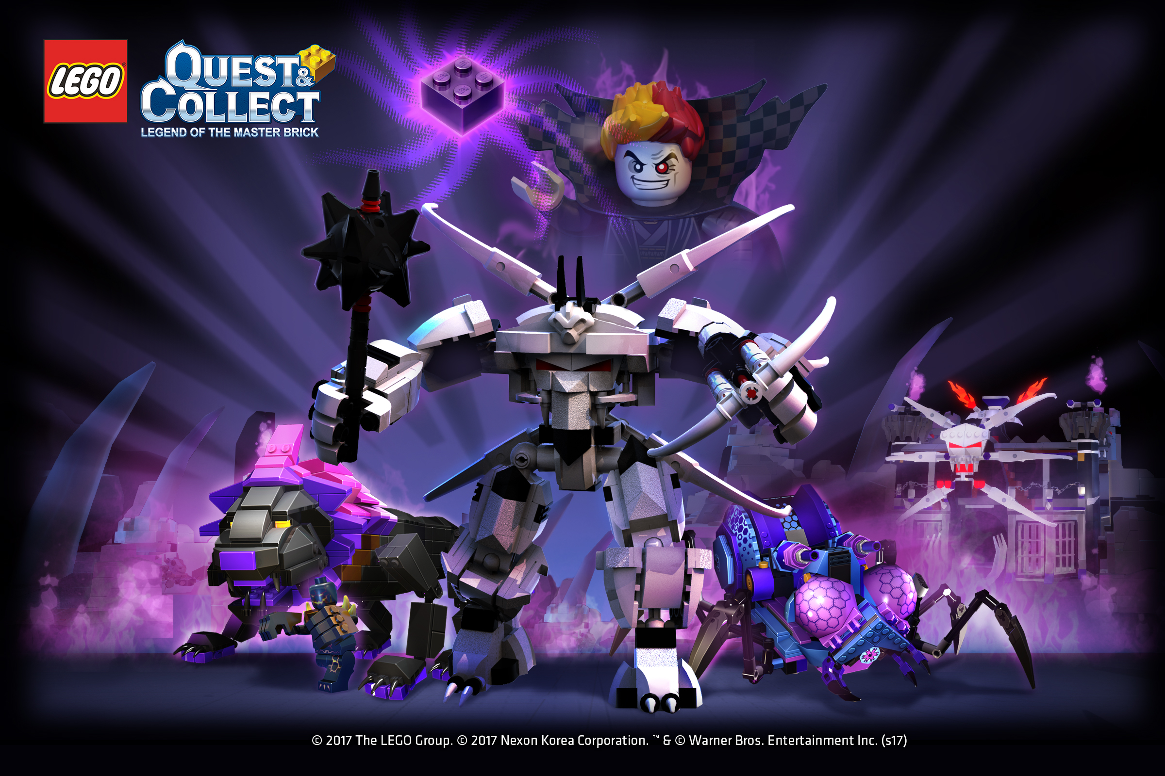 一同前往《樂高® 任務與收集》「地底世界」  在暗黑力量中拯救被邪惡吞噬的英雄!