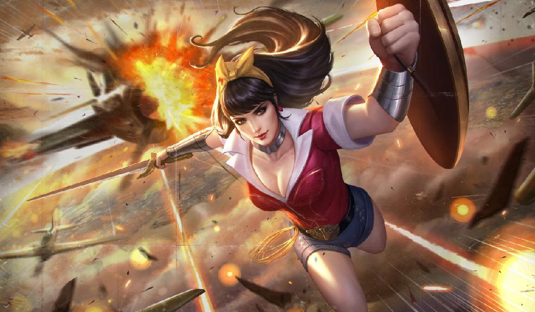 DC 亞馬遜公主「神力女超人」降臨《Garena傳說對決》 為世界帶來正義與和平
