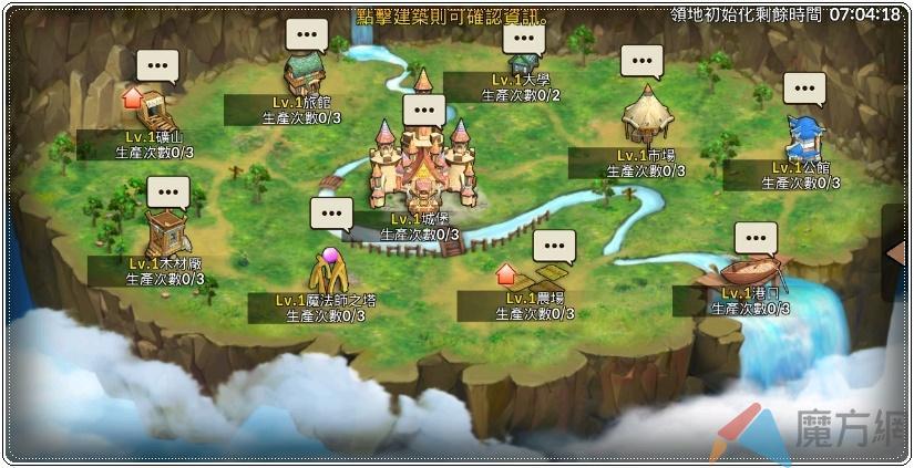 《瞳光IRIS M》領地系統介紹