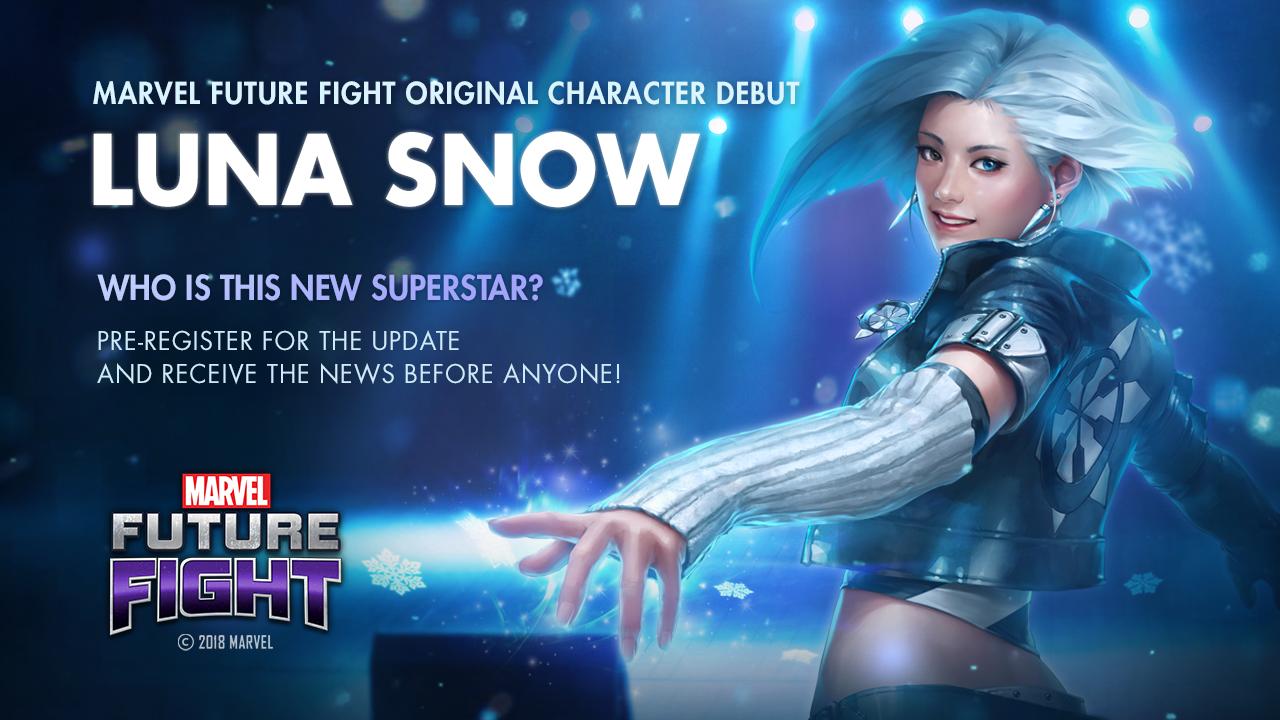 全新韓國超級英雄冰月花雪於《MARVEL未來之戰》登場