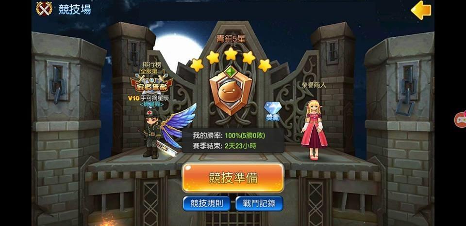《Luna M》競技場挑戰要領