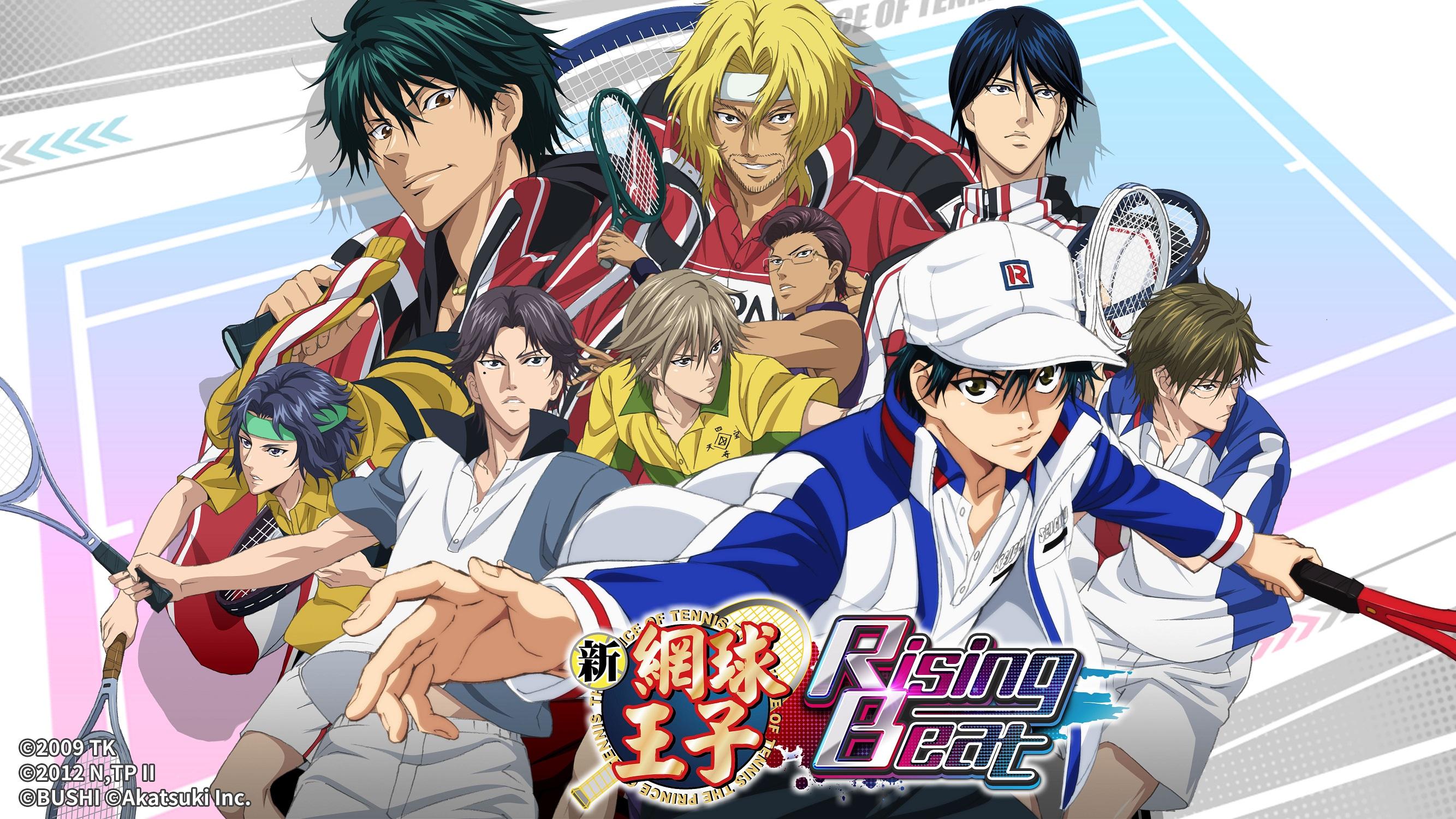 新感覺節奏遊戲《新網球王子RisingBeat》繁體中文版 今正式於 iOS / Google Play 雙平台開放下載!
