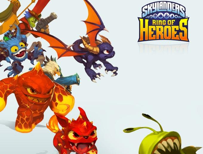 動作冒險RPG手遊《Skylanders Ring of Heroes》封測結束!全球137個國家熱烈參與成績亮眼!