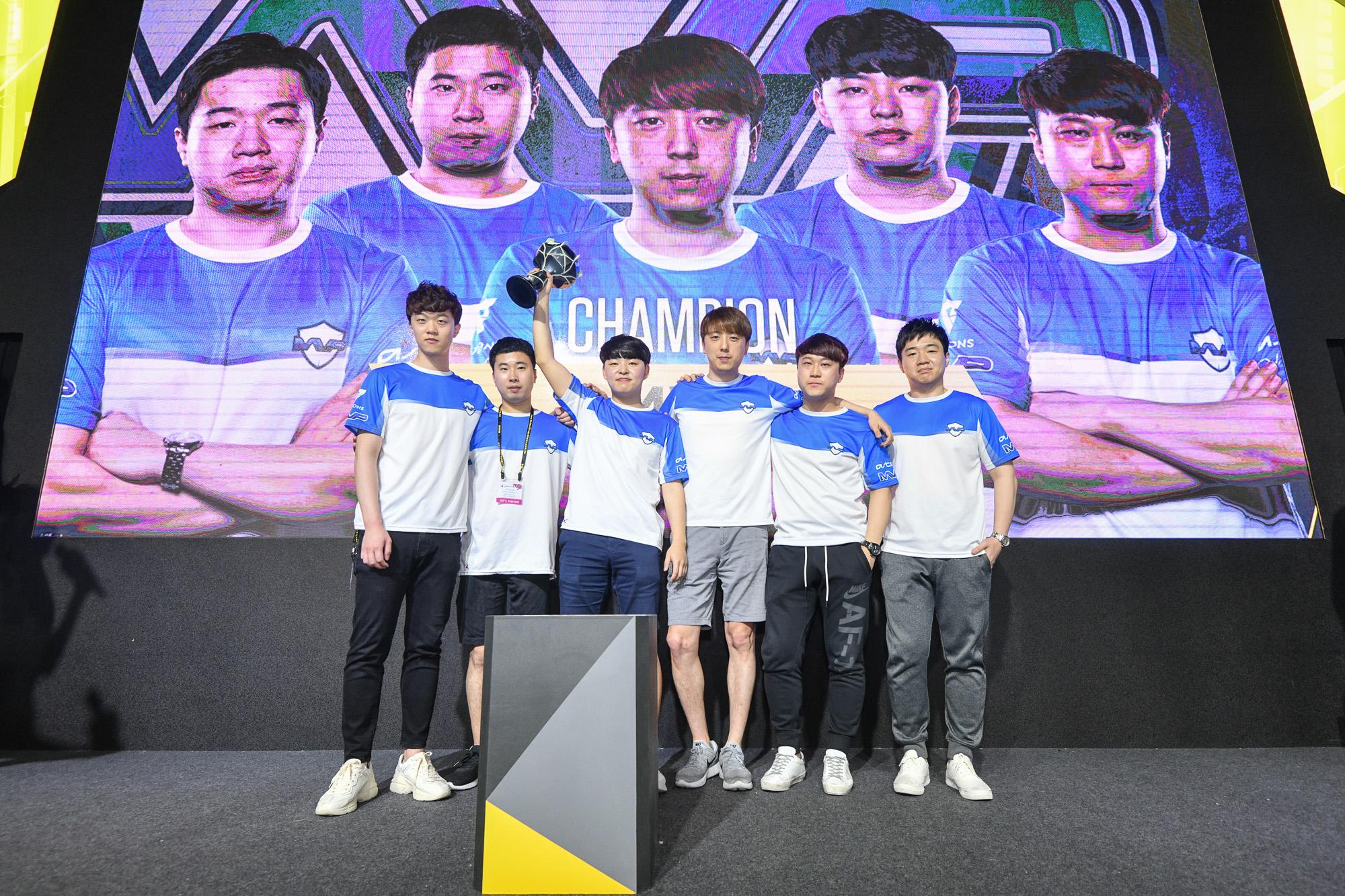 ZOTAC CUP MASTERS 亞洲區決賽冠軍出爐 韓國隊 MVP PK 殺入總決賽爭奪 30 萬美元總獎金