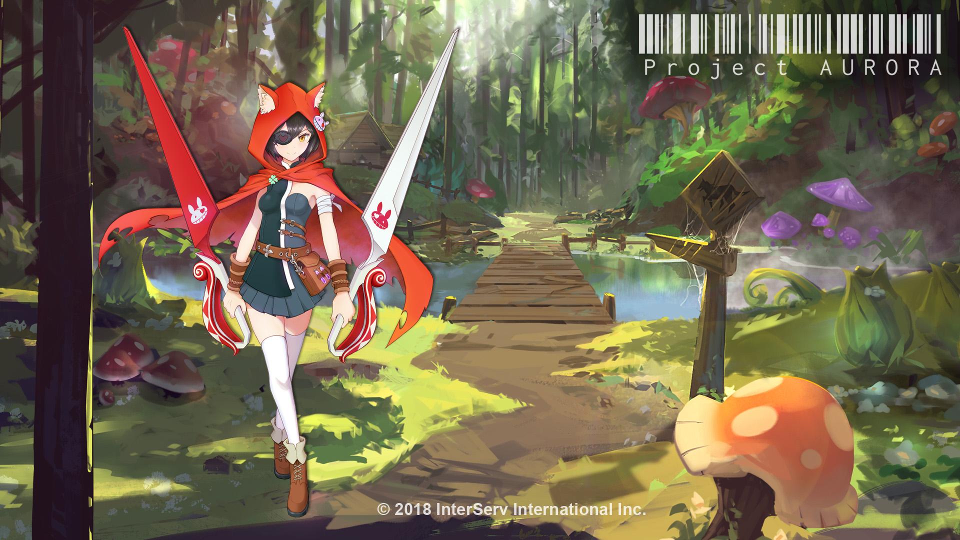 昱泉旗下最新手遊力作《Project Aurora》場景與故事角色於國際電腦展亮相!