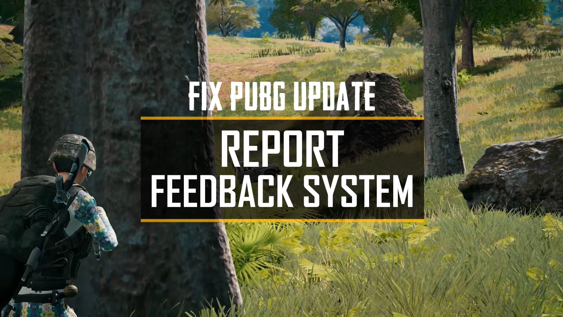 《絕地求生》'Fix PUBG'持續更新, 遊戲內即時反饋,全民抓外掛!