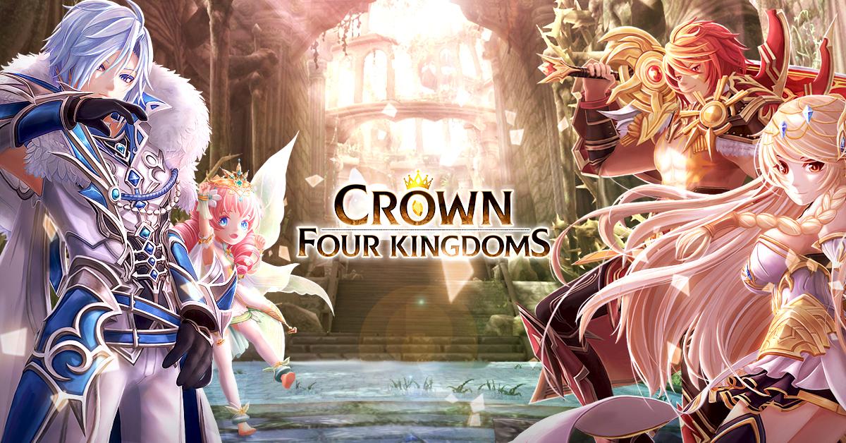 《Crown Four Kingdoms》全球英文版雙平台事前預約正式展開