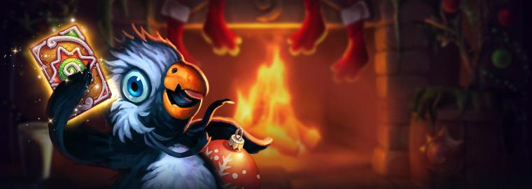 歡慶冬幕節!《爐石戰記®》推出限時活動,免費卡包、遊戲內活動與玩家歡慶佳節!