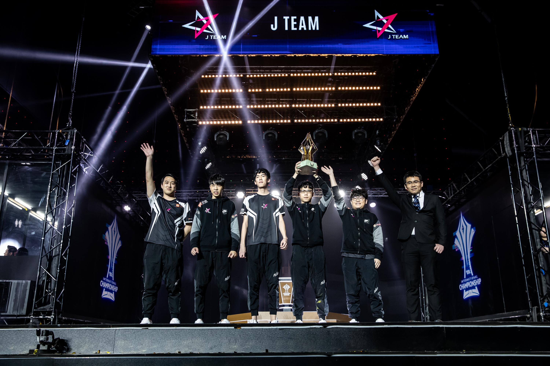 地表最強J Team-傳說對決AIC賽後專訪。