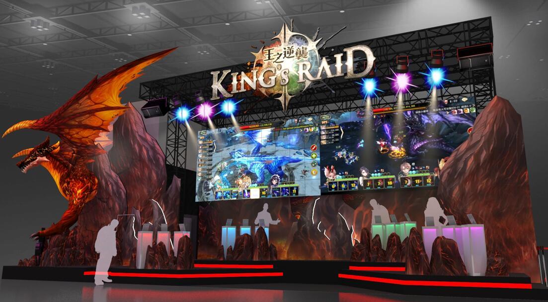 《King's Raid - 王之逆襲》2019台北國際電玩展活動內容搶先報 豐富周邊等你來拿