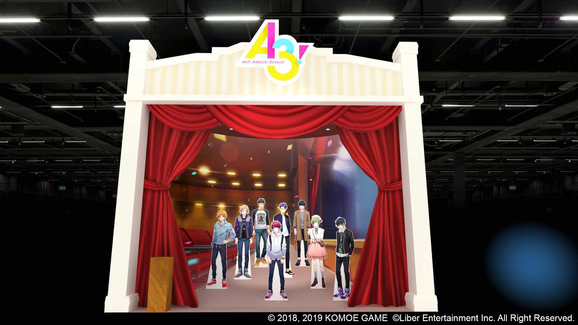 《A3!》繁中版2019台北國際電玩展參展確定!攤位設計搶先曝光!   精彩活動、精美贈品同步公開!