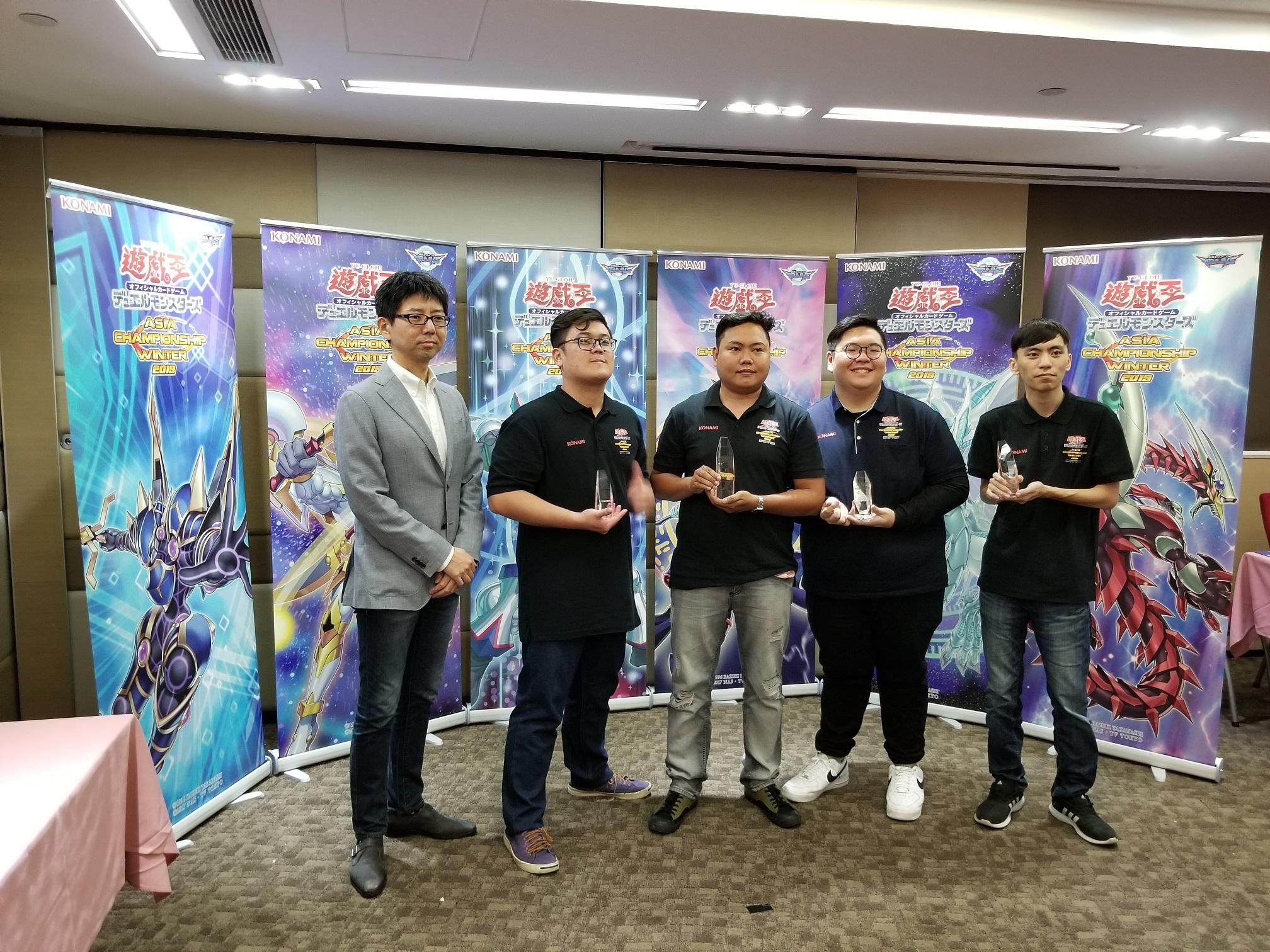 遊戲王亞洲冬季錦標賽2019 決賽舉行