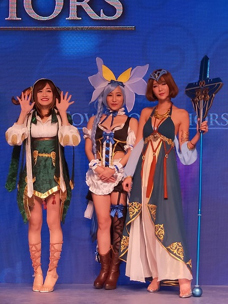 人氣神魔女將雲集 Madhead 攤位 投選最喜愛女將 成為女將們的「守護者」!