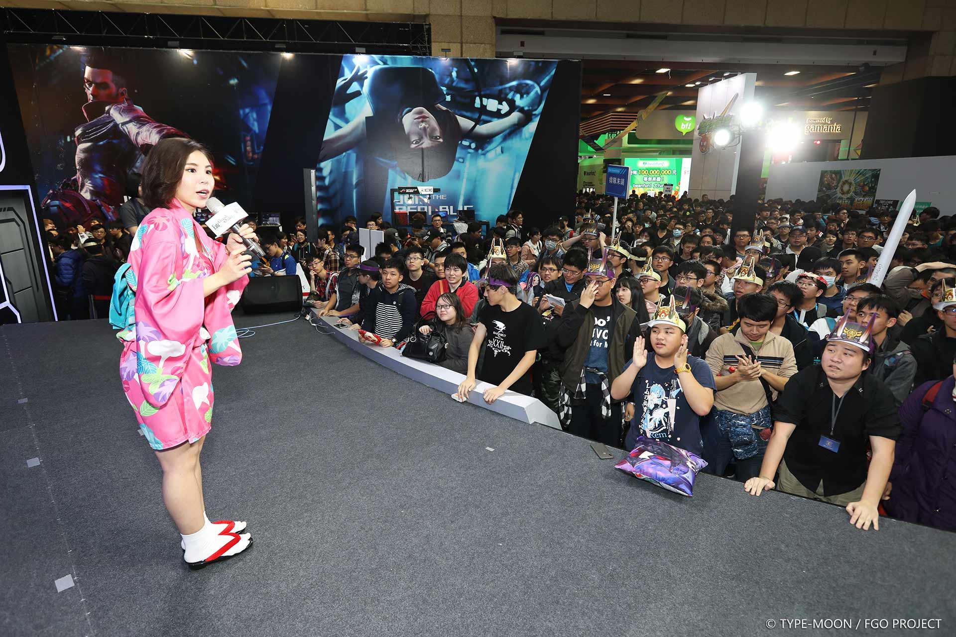 《Fate/Grand Order》2019激戰TGS!『天魔御伽草子.鬼島降臨』開幕首日!人氣爆棚、互動不間斷!