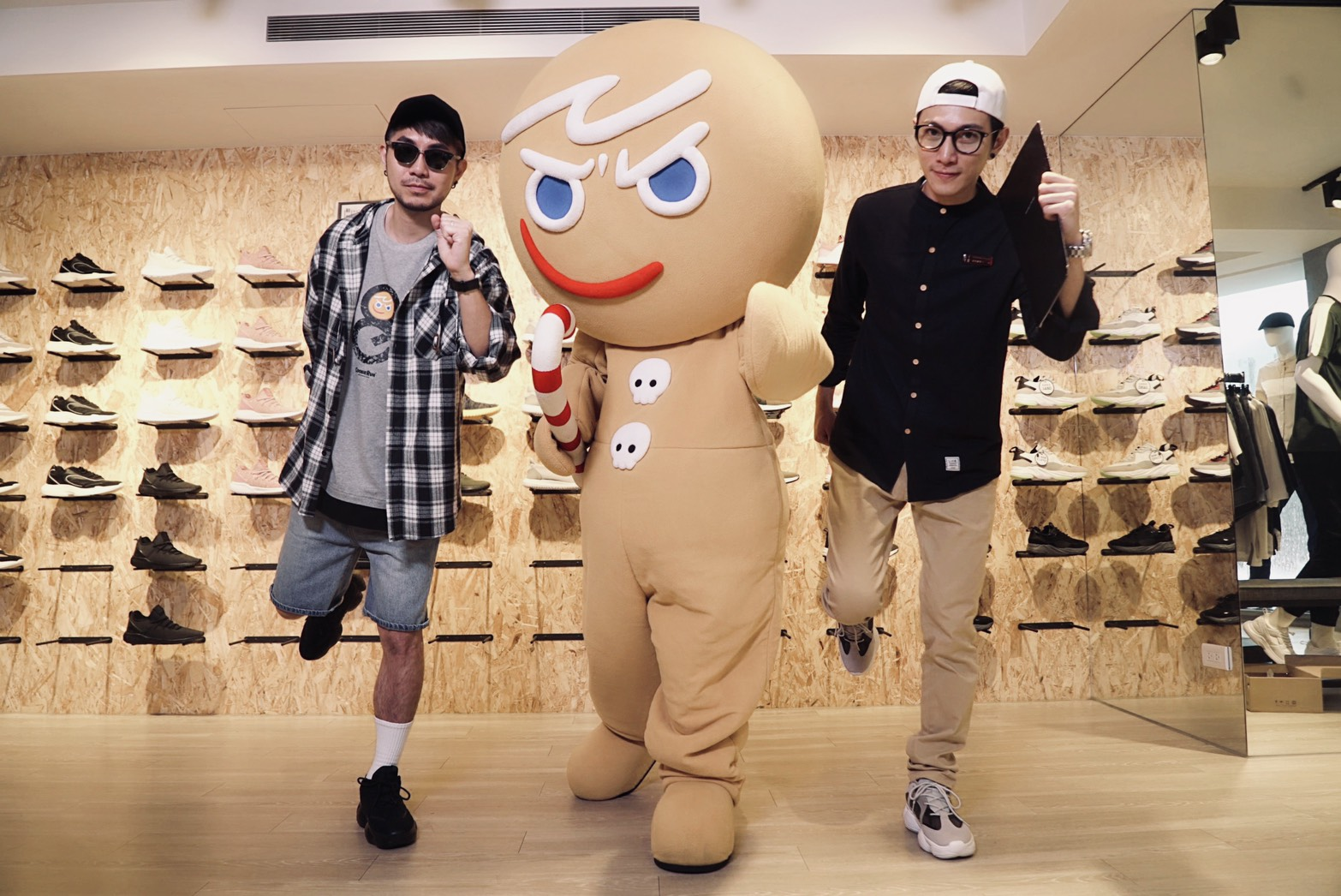 《Life8 x 跑跑薑餅人》 跨界聯名全台限量發售 首賣會現場「記憶小島輕電競」玩家PK搶Switch!!