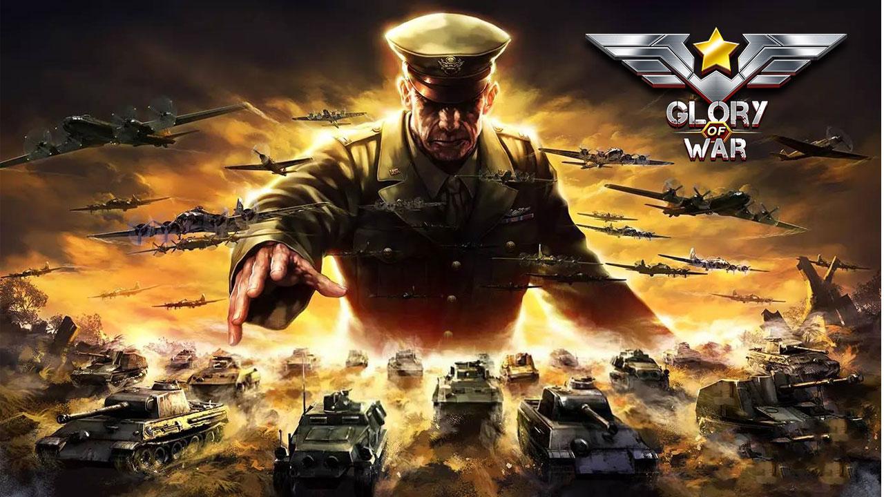 超世界大戰的終極對決,風靡全球的策略鉅作《glory of war》登陸台港澳