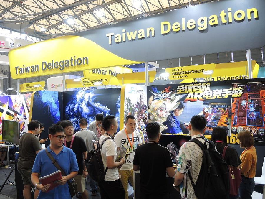 全球遊戲菁英八月齊聚上海ChinaJoy, 臺灣12家遊戲業者組臺灣館力爭國際商機!