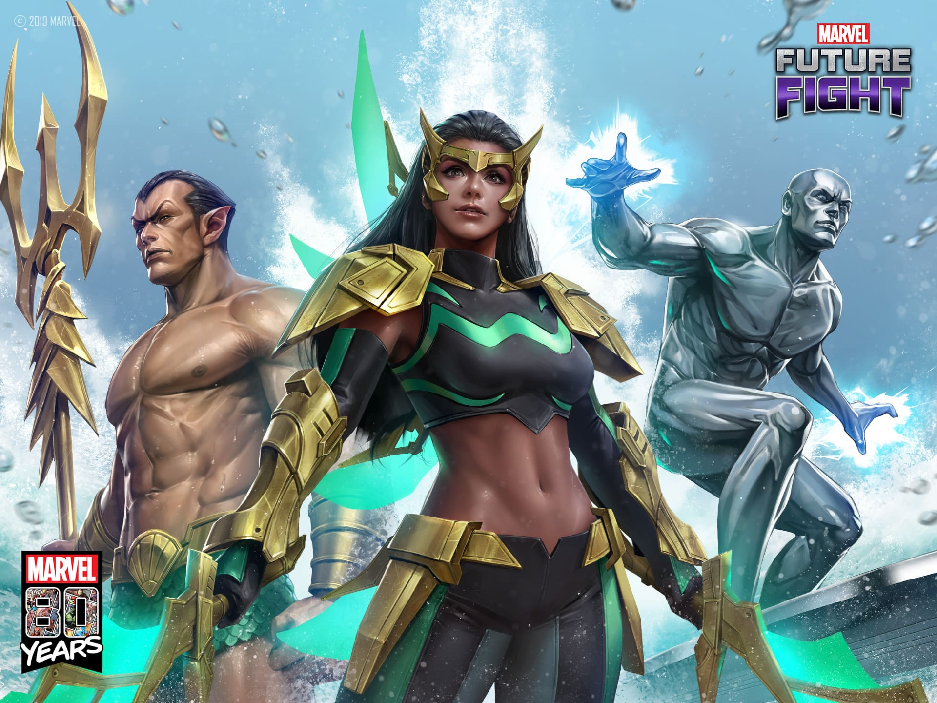 漫威全新菲律賓超級女英雄「浪」 加入《MARVEL未來之戰》參戰