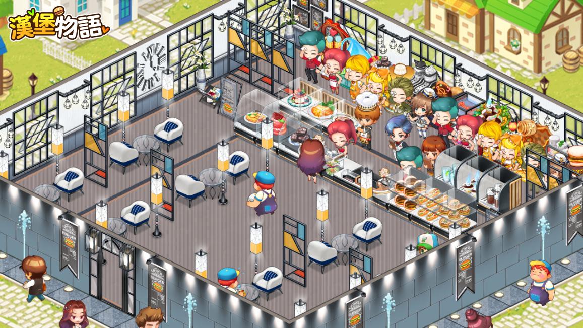 《漢堡物語》店鋪主題「摩登時尚」優雅上架。「無限任務」挑戰再次開啟!!