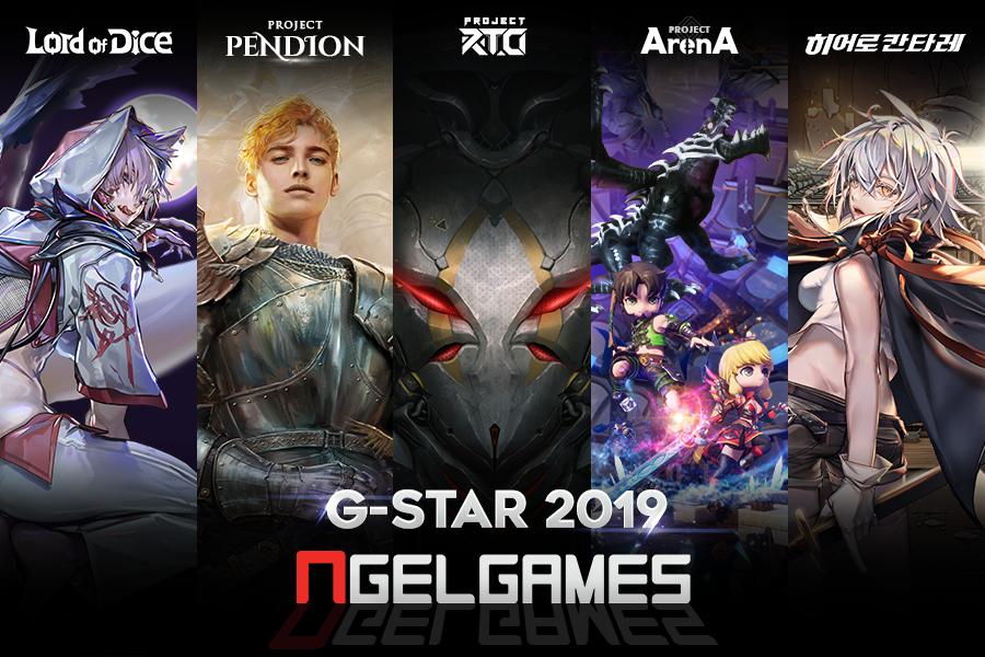 NGEL GAMES人氣網漫超級英雄手遊《Hero Cantare英雄神鬪曲》 台港澳事前登錄突破20萬 G-Star同步公開三款開發中新作