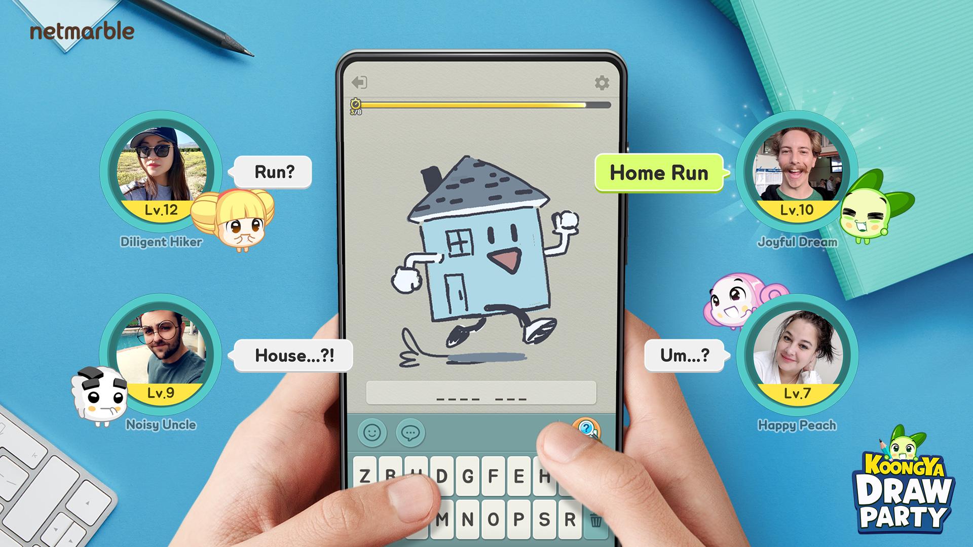 網石猜謎遊戲《KOONGYA Draw Party》 即將在3月26日推出