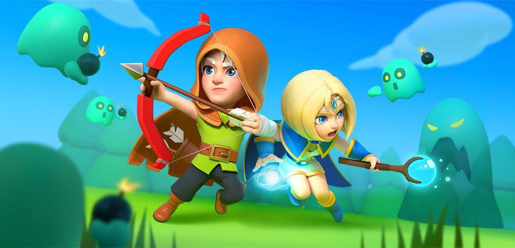 《弓箭傳說》史上最大改版!雙人合作冒險共鬥,事前活動領免費英雄!