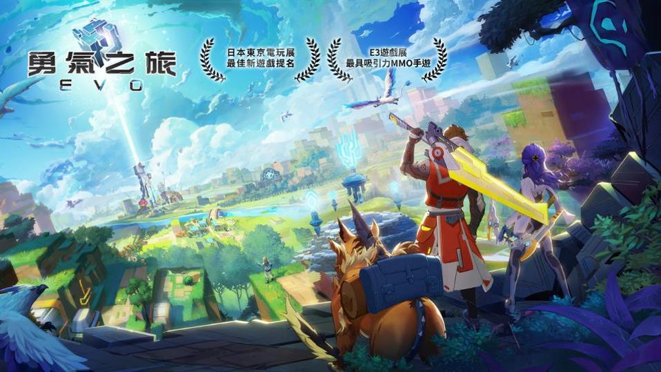 《勇氣之旅:EVO》台港澳代理確定 世界級雙獎項肯定 創新玩法大世界MMO 完整版CG公開