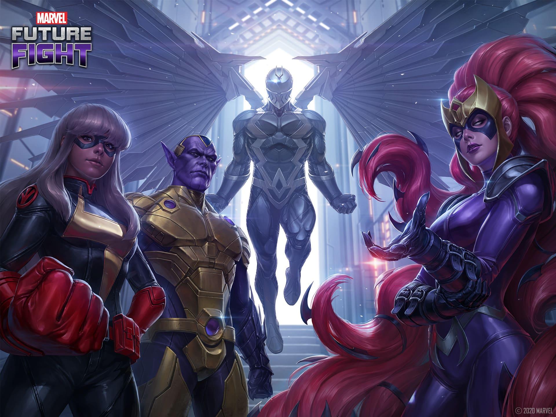 爭奪至尊地位! 《MARVEL未來之戰》推出「異人族vs X戰警」更新