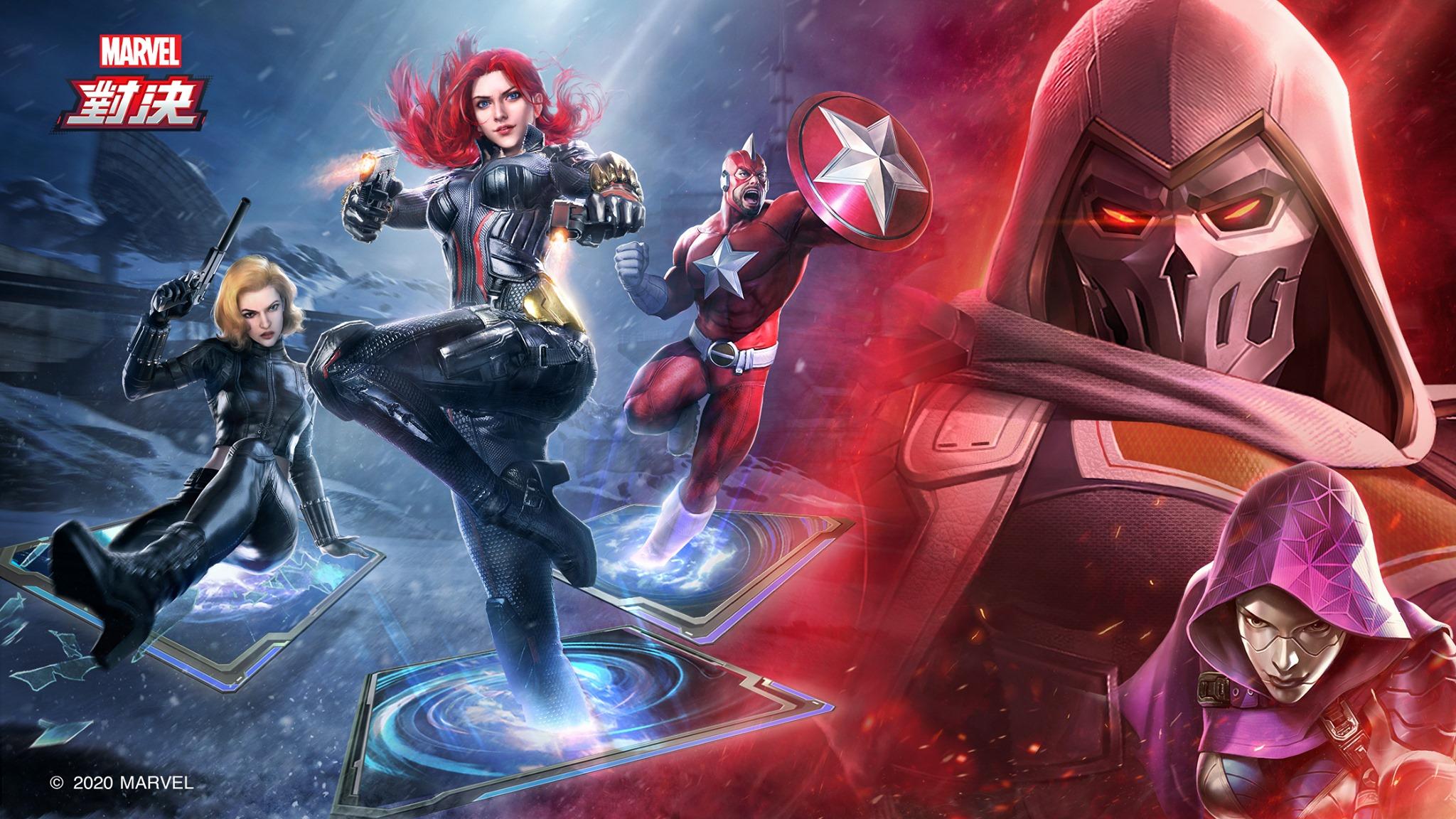 《漫威對決》全新英雄「黑寡婦」帶領特工陣營強勢登場