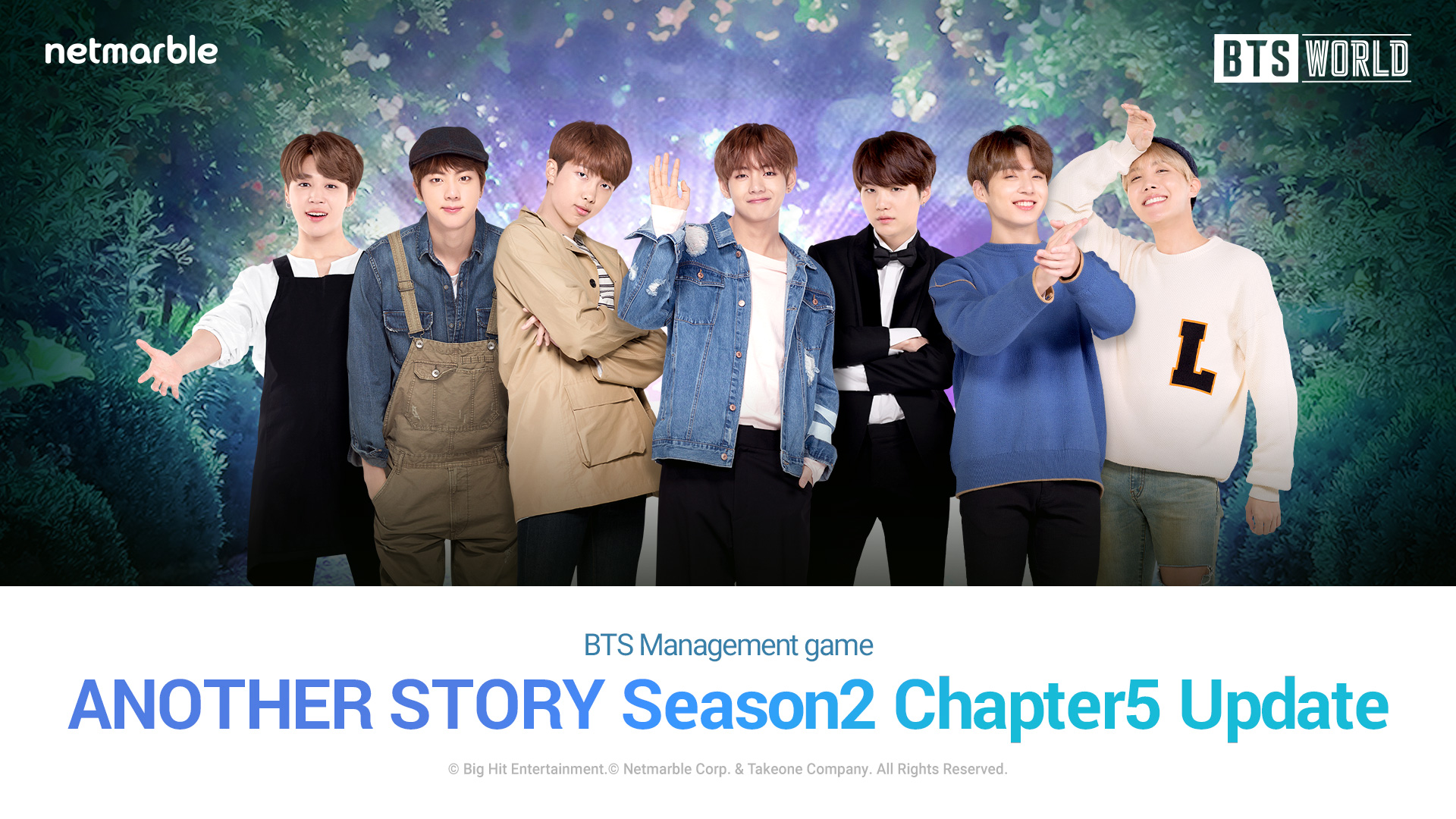《BTS WORLD》12月更新 全新冒險劇情推出