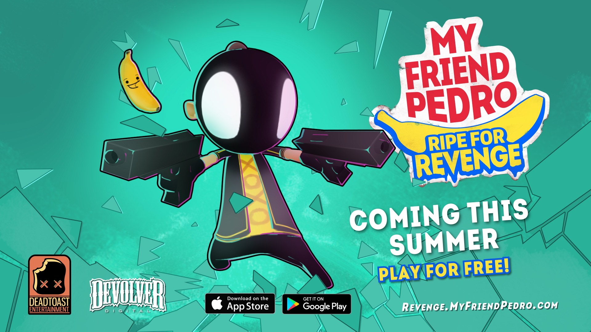 《我的朋友佩德羅:蕉仇必報 My Friend Pedro: Ripe for Revenge》即將登上手機雙平台!